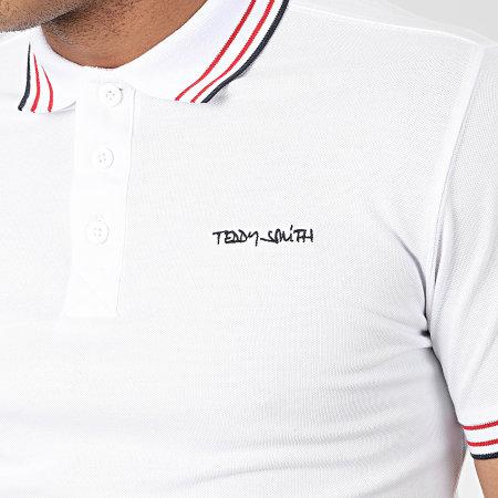 Teddy Smith - Polo Pasian Blanc
