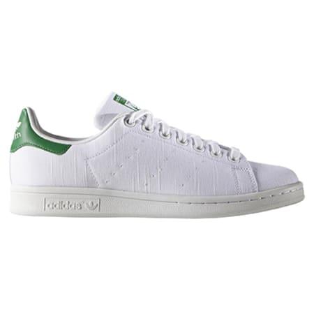 adidas Baskets Stan Smith S75560 Blanc Vert