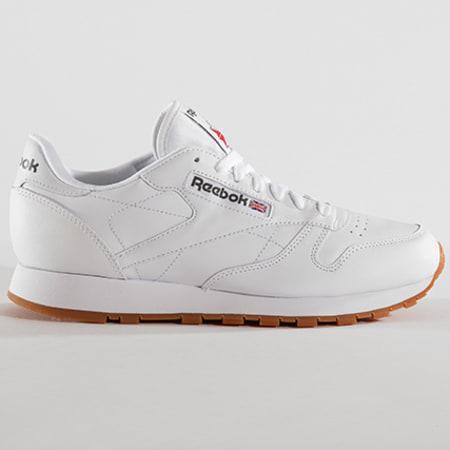 Reebok - Baskets Classic Leather Blanc