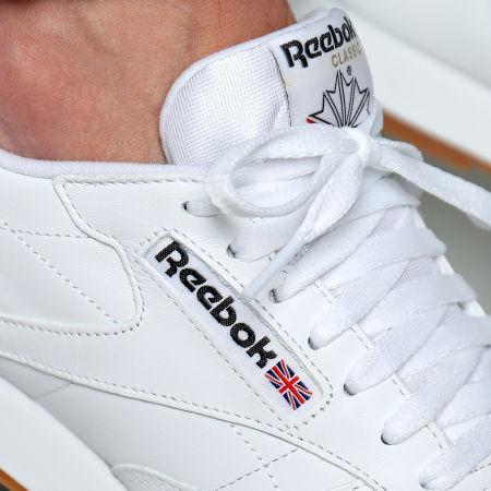 Reebok - Baskets Classic Leather 49799 Blanc