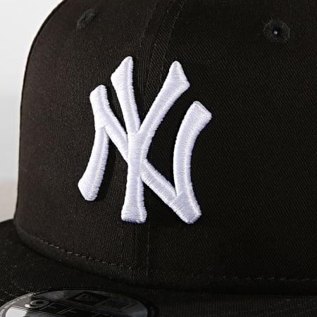 New Era - Casquette Snapback MLB 9 Fifty New York Yankees Noir Blanc