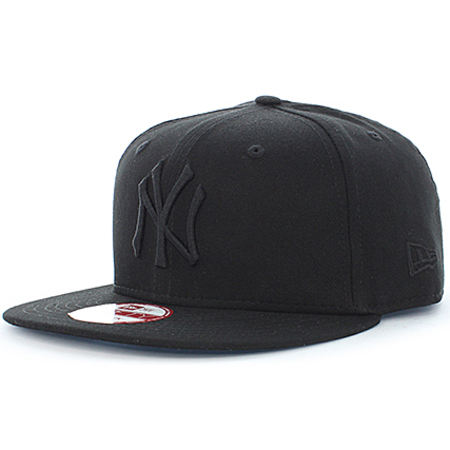New Era - Casquette Snapback MLB 9 Fifty New York Yankees Noir Noir