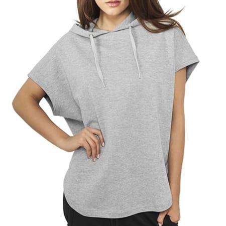 sweat shirt femme manches courtes