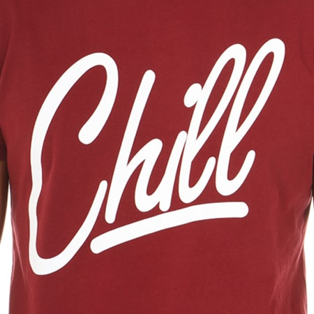 Luxury Lovers - Tee Shirt Chill Bordeaux