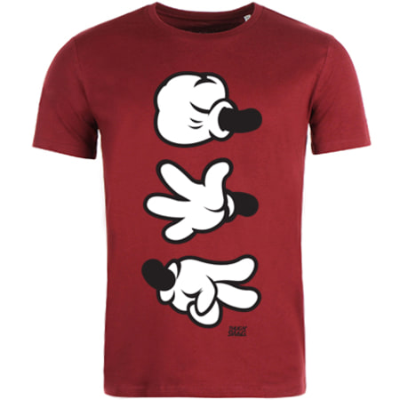 Thug N Swag - Tee Shirt Game Bordeaux