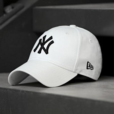 New Era - Casquette Baseball 9Forty League Basic New York Yankees Blanc
