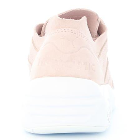 puma basket femme r698 soft rose pale