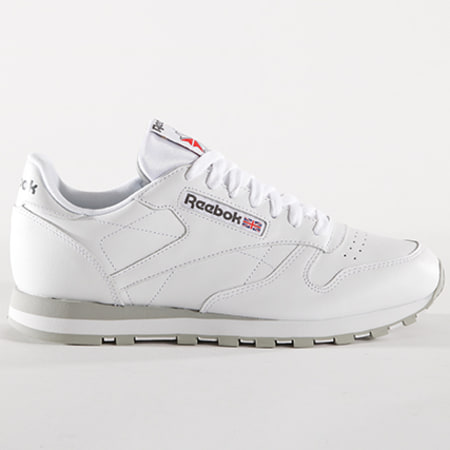 Reebok - Baskets Classic Leather Blanc