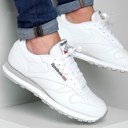 Reebok - Baskets Classic Leather 2214 White