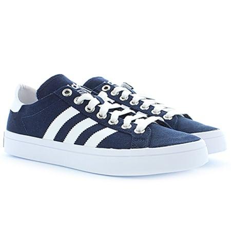 Adidas Court Vantage chaussures 3,5 collegiate navywhite