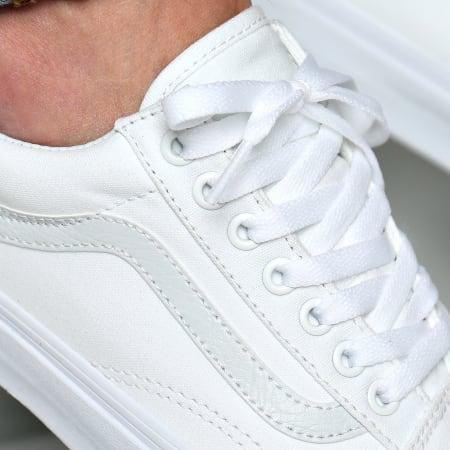 Vans - Baskets Old Skool D3HW00 True White
