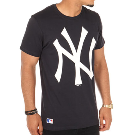 New Era - Tee Shirt OG New York Yankees Bleu Marine