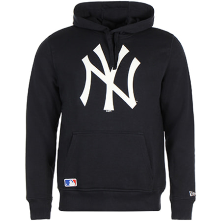 New Era - Sweat Capuche New York Yankees Bleu Marine