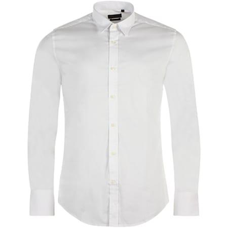Antony Morato - Chemise Manches Longues Basic Blanc