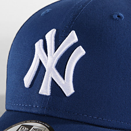 New Era - Casquette 940 League Basic New York Yankees Bleu Roi