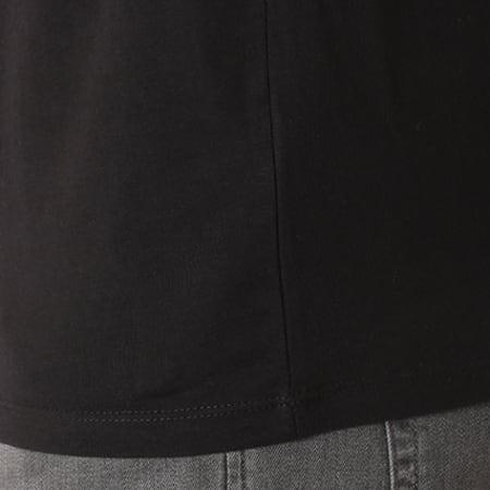 Superman - Tee Shirt Superman Logo Argent Noir
