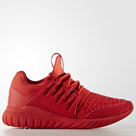 adidas Baskets Femme Tubular Radial S81920 Red Core Black