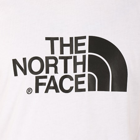 The North Face - Tee Shirt T92TX3FN4 Blanc
