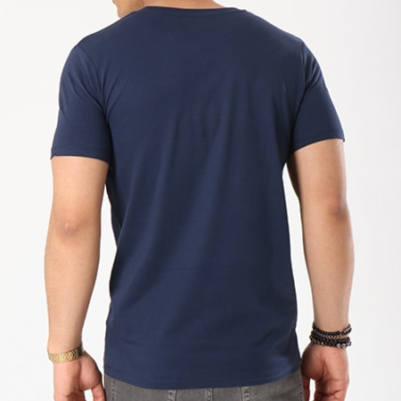 Superman - Tee Shirt Logo Bleu Marine