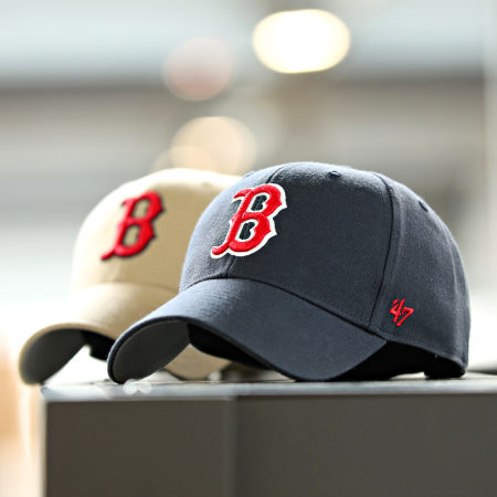 '47 Brand - Casquette Baseball 47 MVP Boston Red Sox Bleu Marine