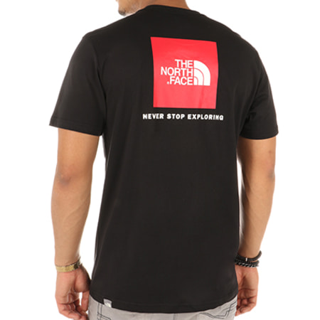 The North Face - Tee Shirt Red Box Noir