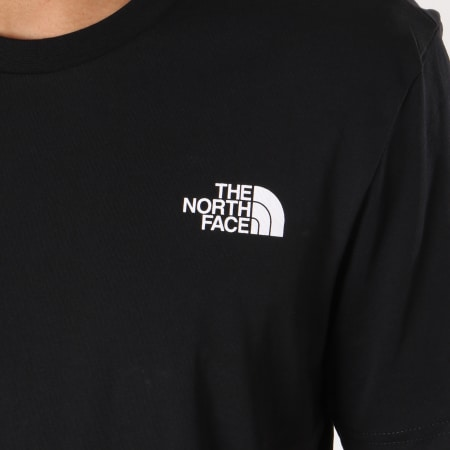 The North Face - Tee Shirt Simple Dome Noir