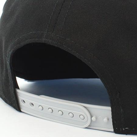 New Era - Casquette Snapback Oakland Raiders Block Gris Noir