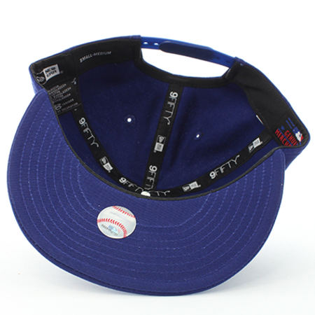 New Era - Casquette Snapback MLB Los Angeles Dodgers 9Fifty Bleu Marine