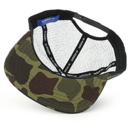 Adidas Kaki Imprimé Camouflage Cap Taille Unique