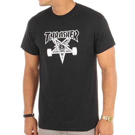 Thrasher - Tee Shirt Skate Goat Noir