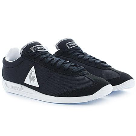 Le Coq Sportif Baskets Quartz Nylon Noir Argent