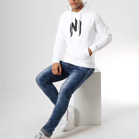 Ninho - Sweat Capuche Ninho 2 Blanc