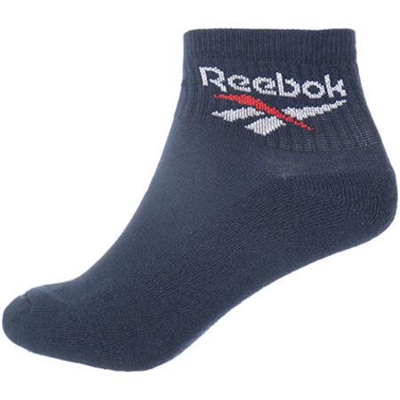 Reebok - Lot De 3 Paires de Chaussettes De Sport Ankle BQ2225 Noir Blanc