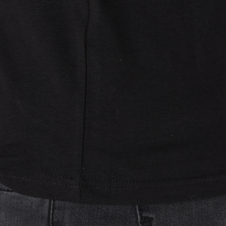 Teddy Smith - Tee Shirt Manches Longues Tawax Noir