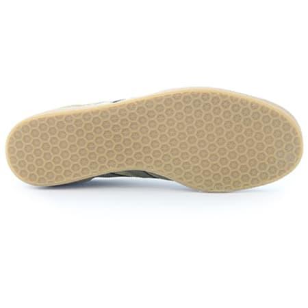 adidas Baskets Gazelle BB5265 Olicar Gum 4 Vert Kaki