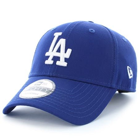New Era - Casquette League Essential 9Forty Los Angeles Dodgers Bleu Marine Blanc