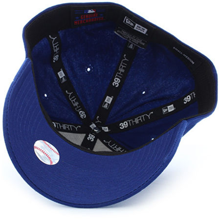 New Era - Casquette League Essential Los Angeles Dodgers Bleu Marine Blanc