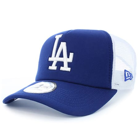 New Era - Casquette Clean Trucker Osfa Los Angeles Dodgers Bleu Marine