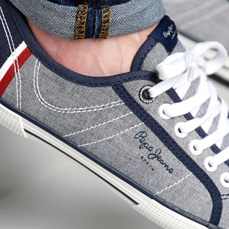 Pepe Jeans - Baskets Aberman Court PMS30356 Chambray