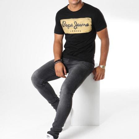 Pepe Jeans - Tee Shirt Charing Noir