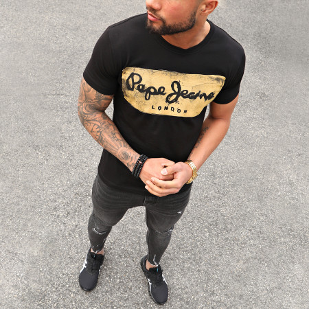 Pepe Jeans - Tee Shirt Charing Noir