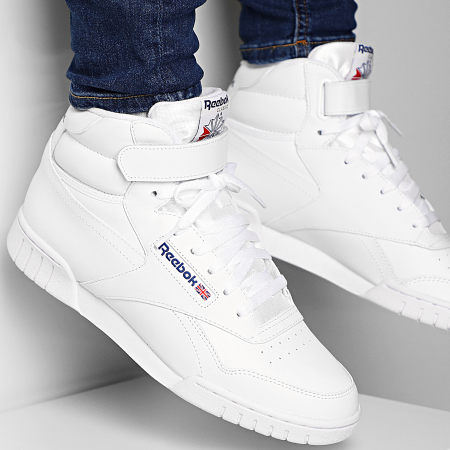 Reebok Baskets Classic Ex O Fit Hi 3477 White