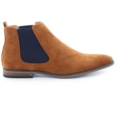 Classic Series - Chelsea Boots GH3026 Camel Navy