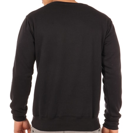 NQNT - Sweat Crewneck Agartha Cyclope Noir