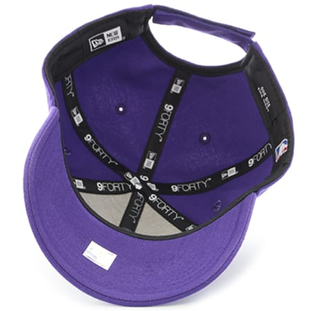 New Era - Casquette The League NBA Los Angeles Lakers 9 Forty Osfa Violet