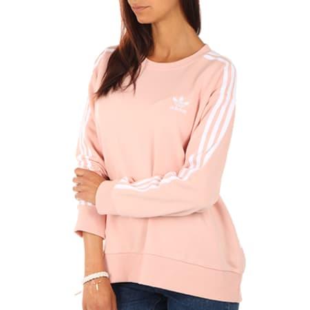 adidas femme sweat rose