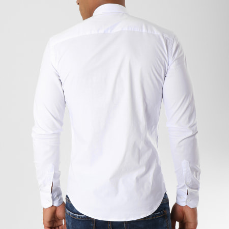 LBO - Chemise Manches Longues Slim Fit 112 Blanc
