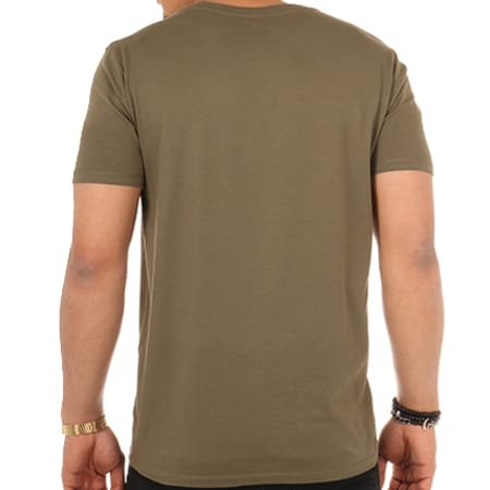Ndeko - Tee Shirt Logo Vert Kaki