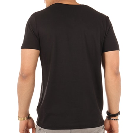Sofiane - Tee Shirt Bandit Saleté 2 Noir Blanc