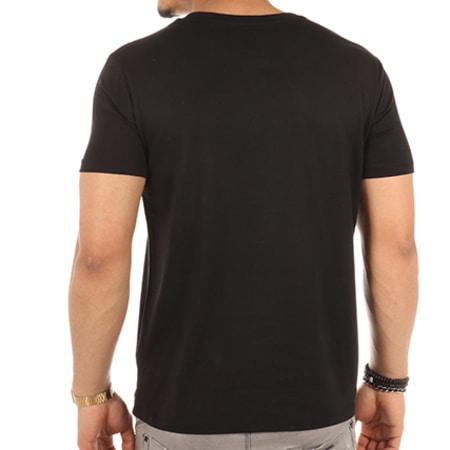 Sofiane - Tee Shirt Mon P'tit Loup Noir Blanc